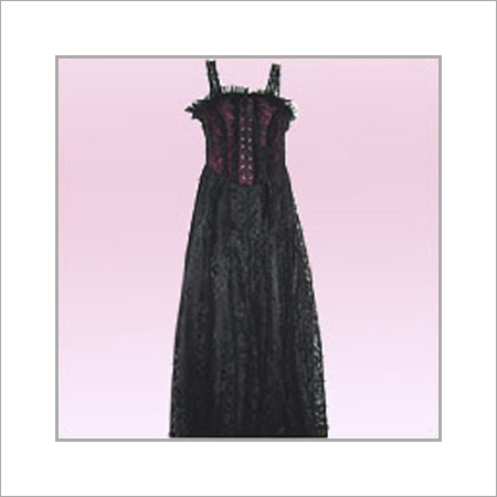 Shrink Resistance Evening Ladies Gown