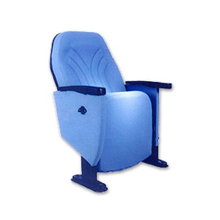 Blue Sturdy Design Pu Foam Chair