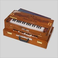 Wooden Scale Changer Harmonium