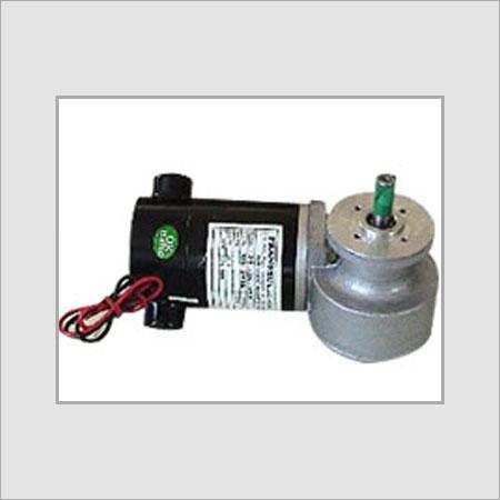 DC Servo Motor With Worm Gear Box