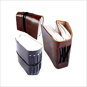 Leather Cover Pocket Diary
