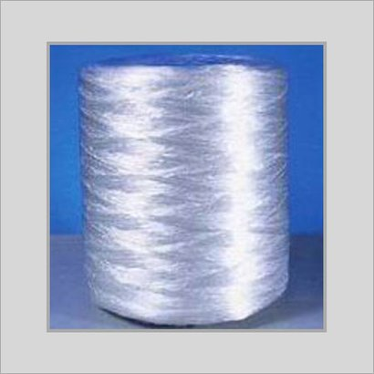 White Eco Friendly Textured Yarn