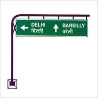 Road Cantilever Sign Boards