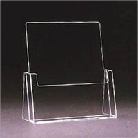 Free Standing 1/3 A4 Acrylic Leaflet Holder