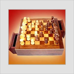 Brown Color Wooden Chess Board