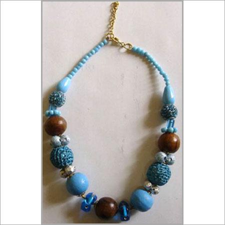 Blue Color Designer Necklace