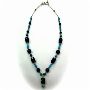 Turquoise Color Silver Necklace