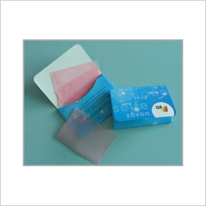 Easily Carried Thin Paper Soap