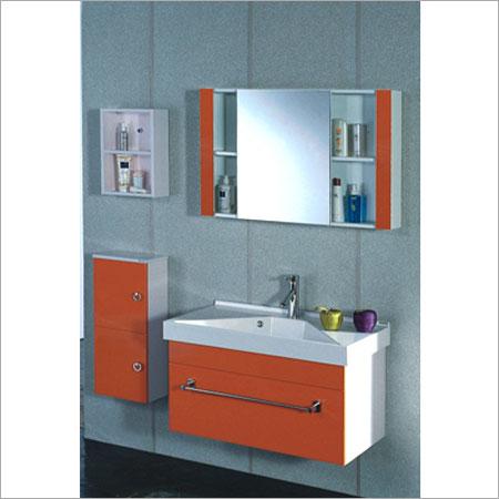 Elegant Patterns Bathroom Cabinet