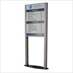 Free Standing Display Signs