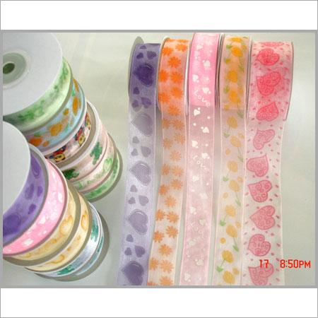 Satin Ribbon And Organza Ribbon