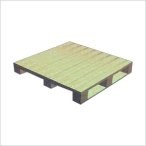 4 WAY ENTRY NON REVERSIBLE WOODEN PALLET