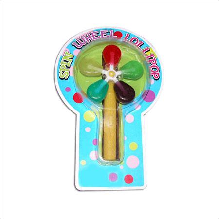 Cardboard Windmill Candy Lollipop