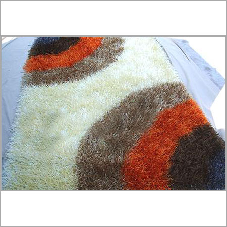 Colorful Polyester Shaggy Rug At Best