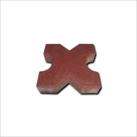 Brown Plain Unbreakable Paver Block