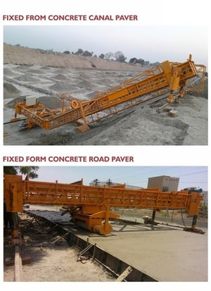 Concrete Lining Paver (Fixed Form)
