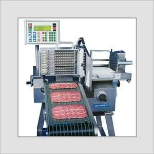 Fully Automatic Food Slicer With Conveyor Belt