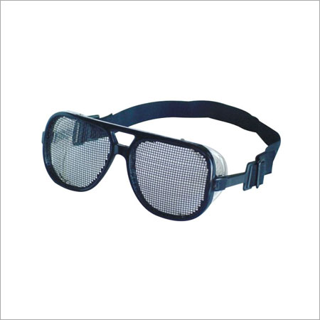 Black Impact Resistant Protective Glasses