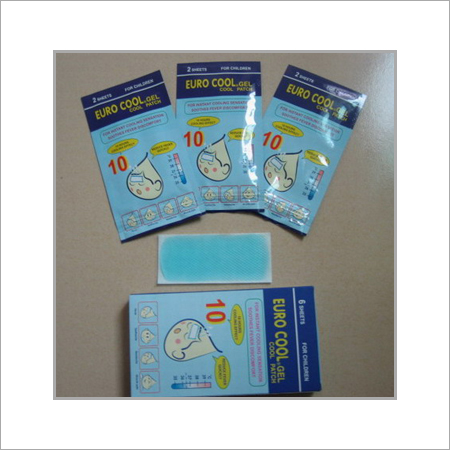Effective Cooling Gel Pad Size: 5X12Cm (For Adult )