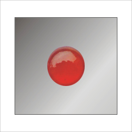 Red Color Glass Bead
