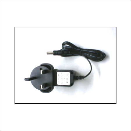 Black Color Switching Power Adapter