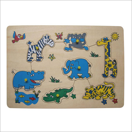 Customized Animal Puzzle Game