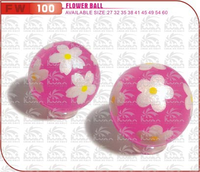 Printed Rubber Bouncing Ball