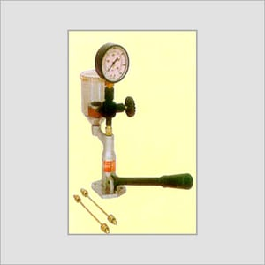Injector Nozzle & Tester