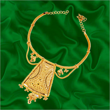 Gold Contemporary Necklace In Chowrangi Road Kolkata West Bengal India P C Chandra Jewellers Pvt Ltd