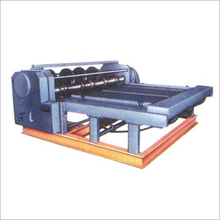 Combined Rotary Creasing Slotting & Slitting Machine