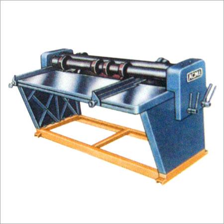 Four Bar Rotary Creasing & Slitting Machine
