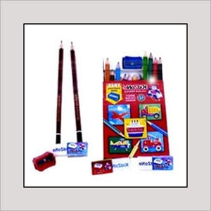 Black Lead Pencils and Sharpeners