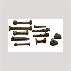 Rail Bolt And Nuts