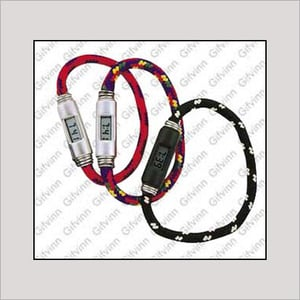 LCD Display Stretch Band Watch