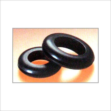 Plain Black PVC Grommet