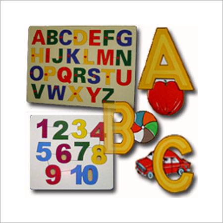Educational Alphabets & Numbers