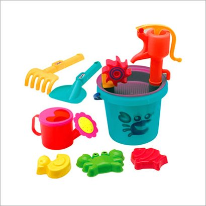 Plastic Sand Beach Toy Age Group: 8-11 Yrs