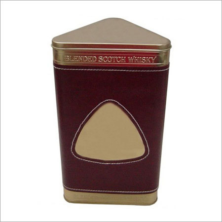 Wine Tin Box