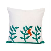 Hand Embroidered Designer Cushion Cover