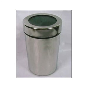 Stainless Steel Canister With Screw Lids