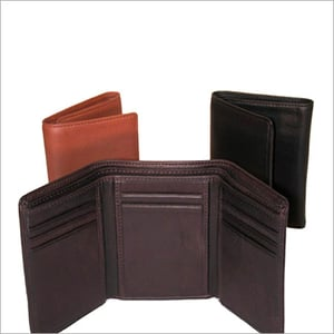 Mens Bifold And Trifold Leather Wallets