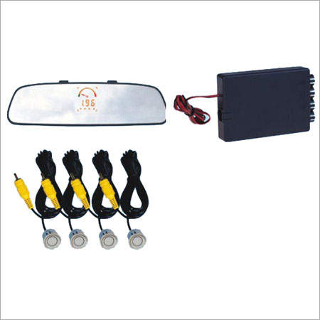 Rear Mirror Display Parking Sensors