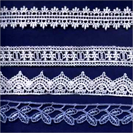 Designer Embroidered Chemical Lace