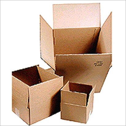 Brown Four Side Folding Corrugated Boxes