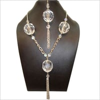 Designer Crystal Necklace Set