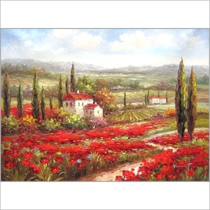 Wall Landscape Oil Painting