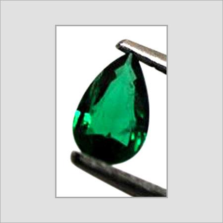 Pear Shape Green Emerald