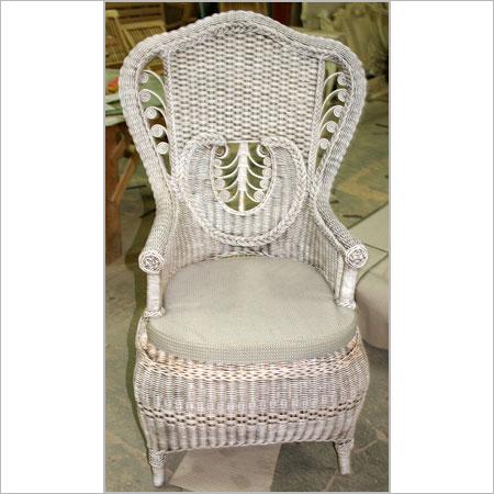 Designer Wicker Victorian Chair