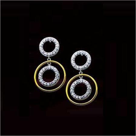 Ladies Fancy Silver Earring