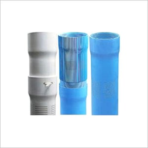 PVC Screen Round Pipes